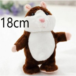 18CM Lovely Talking Hamster...