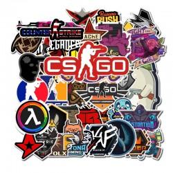 50 PCS Lot CS GO kleebisega...