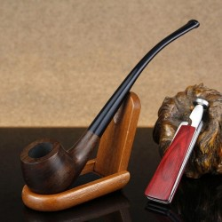 Classic Ebony Wood Pipe 3mm...