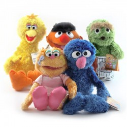 Cartoon Anime Sesame Street...